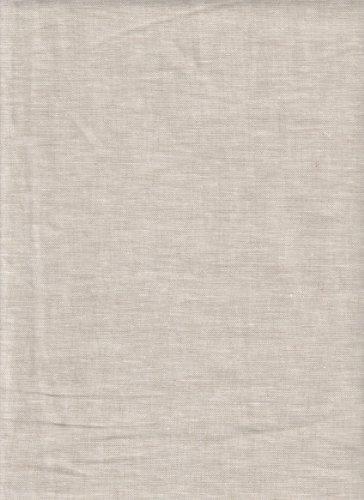 Robert Kaufman Essex Natural Flax Linen Fabric ~ 55% Linen 45% Cotton ~ 55