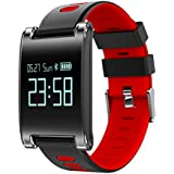 European Intelligent Hand Loop Blood Pressure Heart Rate Monitoring Large Screen Display Bluetooth Sport Smart Watch