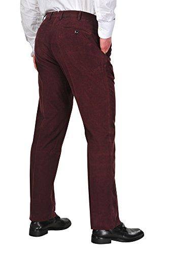 Incotex Pantalon Homme 33 Bordeaux / Courtoy Taille normale Coupe droite R