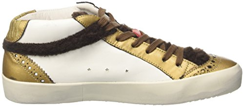 Ishikawa Unisex Adulto-1254 High-top Bianco