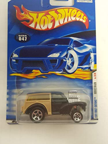 Morris Wagon Hot Wheels 2001 First Editions diecast 1/64 scale car No. 047