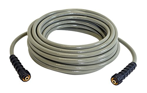 SIMPSON Cleaning 40226 3700 PSI Cold Water Replacement/Extension Hose for Gas and Electric Pressure Washers, 5/16-Inch by 50-Feet 50' Extension Replacement Hose