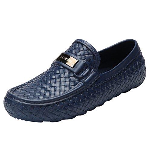 Scarpe Passeggio Uomo Classico Chelsea Blu Scarpe Driving Pantofola Shoes Casual Piatti da Xinwcang Boots Mocassini XgEqqP