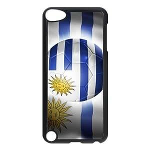 Lycase(TM) Football Soccer Flag Custom Durable Hard Back Plastic Case, DIY Football Soccer Flag Ipod Touch 5 Case