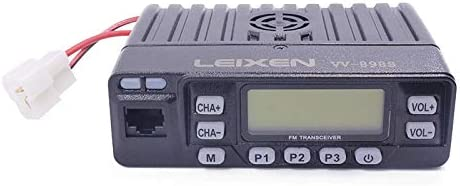LEIXEN VV-898S Dual Band VHF UHF 5W 10W 25W 136-174 400-470MHz Two Way Radio Car Mobile Radio Tranceiver Amateur Ham with USB Programming Cable