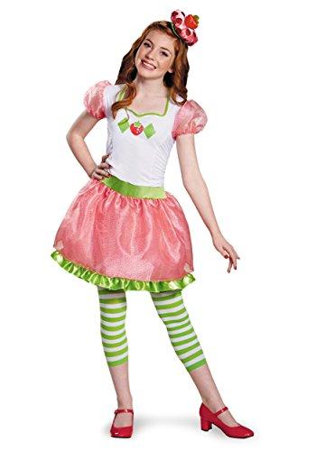 Disguise Strawberry Shortcake Tween Costume, One Color, Large (10-12) (Strawberry Shortcake Hat)