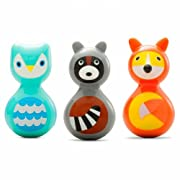 Woodland Animals Wobble Toys (Set of 3)