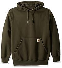 Carhartt Men's Rain Defender Paxton Heavyweight Hooded Sweatshirt, peat, 2X-Large