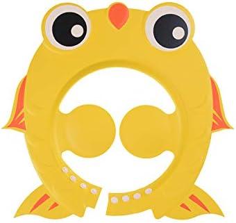 Acc - Gorro de Ducha Ajustable para bebé, diseño de pez Dorado ...
