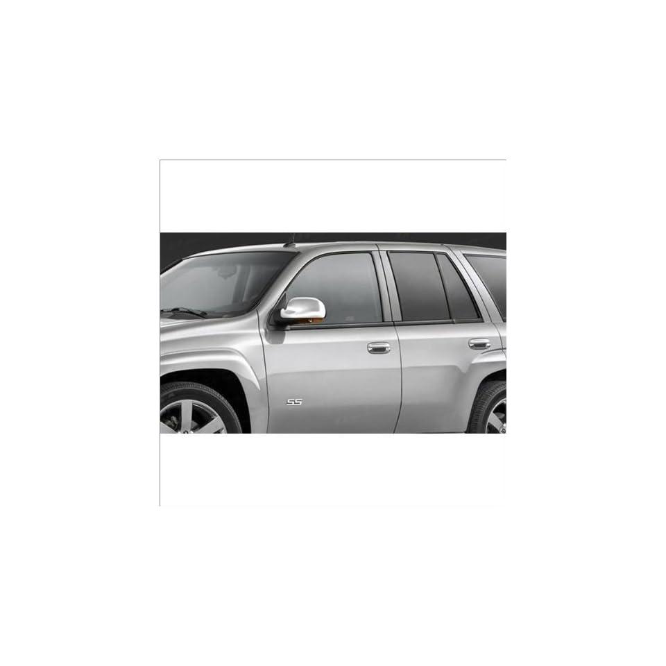 SES Trims Chrome Mirror Covers 02 09 Chevrolet Trailblazer