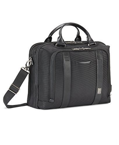Travelpro Crew Executive Choice 2 Pilot Under-Seat Brief Bag, 16-in., Black - Executive Brief Bag
