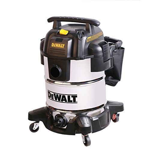 DeWALT 10 Gallon Stainless Steel Wet|Dry Vac