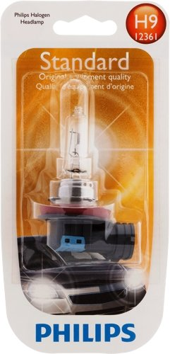 Philips H9 Standard Halogen Headlight Bulb (Pack of 1)