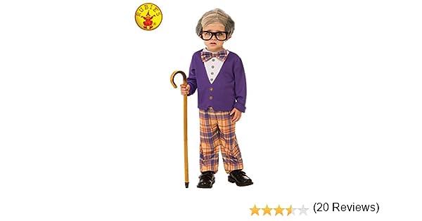 Rubies - Disfraz de pequeño hombre viejo para niño, talla 3-4 años ...