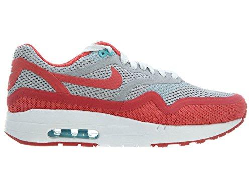 Nike Vrouwen Wmns Air Max 1 Br, Wolf Grijs / Grnm-plrzd Bl-logan Rood, 10 Ons