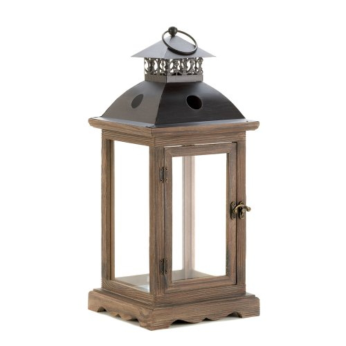 VERDUGO GIFT CO Large Monticello Candle Lantern by VERDUGO GIFT