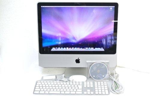 アップル iMac Core2Duo-2.0GHz 2GB 250GB DVD-RW AirMAC 20TFT OSXの商品画像