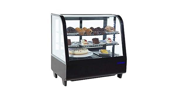 Vitrina frigorífica expositora sobre mostrador 100 l.: Amazon.es ...