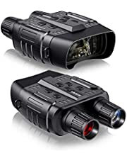 Night Vision Binoculars Goggles for Hunting, Digital Infrared Binoculars with Night Vision for Spotting, Adventure, Surveillance, Spy with 32GB Memory Card
