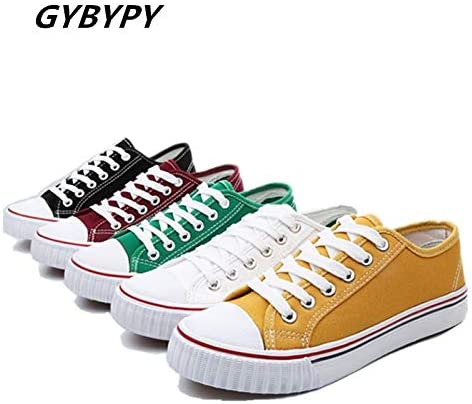 HuWang Spring Autumn Shoes Men Fashion Classic lace-up Student Breathable Casual Canvas
