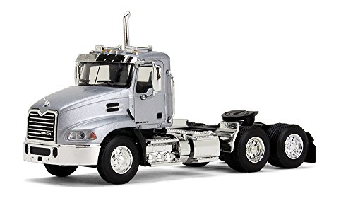 First Gear 1/64 Scale Diecast Collectible Silver Mack Pinnacle DayCab Tractor (#60-0349) -