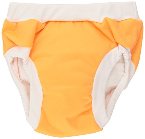 Kushies Baby PUL Training Pant, Orange, Large