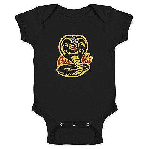 Cobra Kai Karate Dojo Black 6M Infant Bodysuit