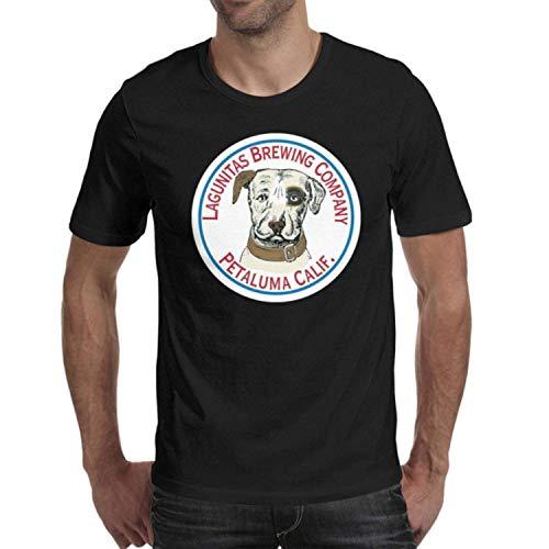 DaWang Adult Round Neck Funny top Mens Guys Lagunitas-Brewing-Co.-Beer- t Shirts