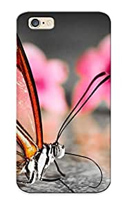 Fireingrass Case Cover For Iphone 6 - Retailer Packaging Butterfly Protective Case