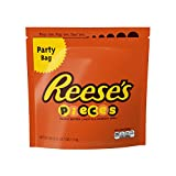 REESE'S PIECES Candy, Peanut Butter Candy in a Crunchy Shell, Party Bag, 39 Ounce Resealable Pouch