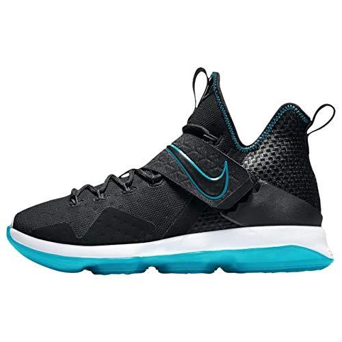 ナイキ バスケットボールシューズ レブロン 14 PRM メンズ [並行輸入品] Black/Glass Blue US10(28.0cm) B07BRMHR5W