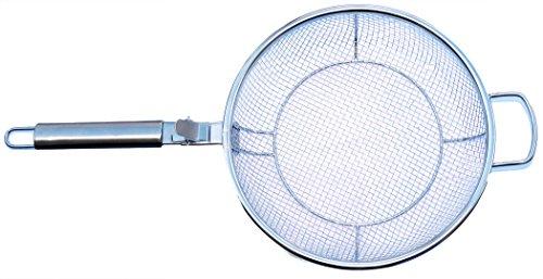 - Maverick MFP-01CR Mesh BBQ Grill Fry Pan, 12-Inch