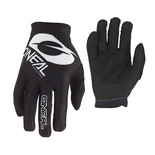 Icon Motorcycle Gloves Icon - O'Neal Unisex-Adult's Matrix Glove (Icon) (Black, Size 11)