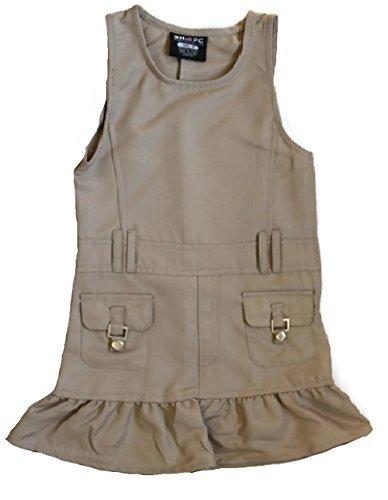 Beverly Hills Polo Club 2 Snap front Pocket Twill Jumper Khaki-Size (Twill Jumper)