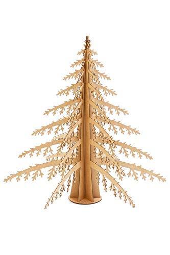 Árbol de Navidad Alpino Safari de cartón, Marrón, Gigante