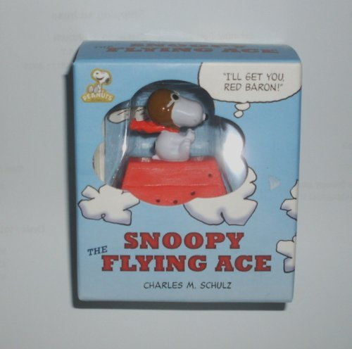 Peanuts Snoopy Flying Ace Pilot Figure with Book Mini Gift Set (Snoopy Flying Ace Figure compare prices)
