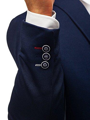 1652 Giacca Ripro Bolf Blu – Blazer Scuro Uomo D'abito Casual x7W5Yqw5T