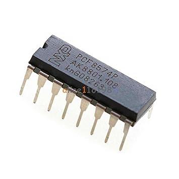 10 PCS PCF8574P PCF8574 DIP-16 NXP//PHI Remote 8-bit I//O Expander IC NEW