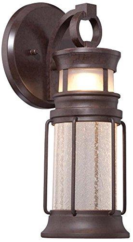 Minka Lavery 72441-291-L Garreston Pointe Outdoor Lantern, Architectural Bronze with Copper Finish by Minka Lavery B01IPGW7LU
