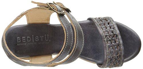 Letto | Stu Womens Kenya Platform Sandal Smoke Blue