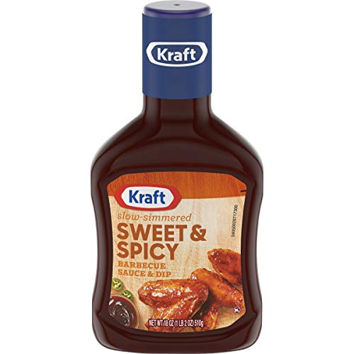 Kraft Sweet & Spicy Slow Simmered Barbecue Sauce (18oz Bottle)