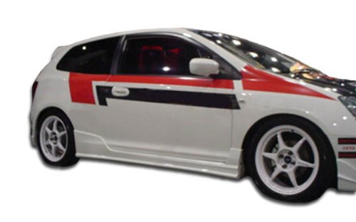2002-2005 Honda Civic Si HB Duraflex JDM Buddy Side Skirts Rocker Panels - 2 - Buddy Honda Jdm Civic
