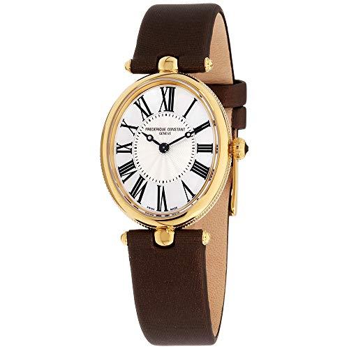 Frederique Constant Women's FC200MPW2V5 Art Deco Analog Display Swiss Quartz Brown Watch ()