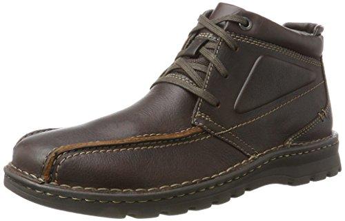 Clarks Herren Vanek Rise Klassische Stiefel Braun (Brown Oily)