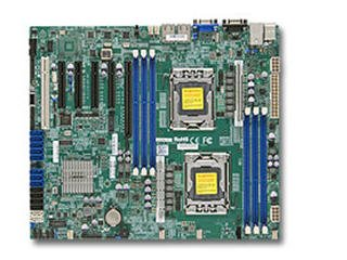(SUPERMICRO X9DBL-iF Server Motherboard - Intel C602 Chipset - Socket B2 LGA-1356 / 2 x Processor Support - 192 GB DDR3 SDRAM Maximum RAM - Serial ATA/300, Serial ATA/600, Serial Attached SCSI (SAS) RAID Supported Controller - On-board Video Chipset - 1 x PCIe x16 S / MBD-X9DBL-IF-O /)