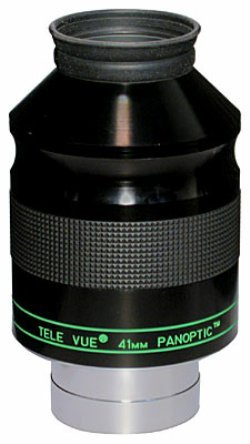 TeleVue 41mm Panoptic Wide Angle Eyepiece with 68 Degree - 41mm