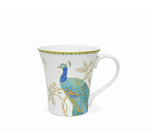 222 Fifth Peacock Garden 16-piece Dinnerware Set, Service for 4 by 222 Fifth (Image #5)