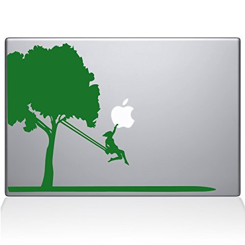 【通販激安】 The Decal newer) Guru 0163-MAC-13X-LG Tree Green Vinyl Sticker 13 13 Macbook Pro (2016 & newer) Green [並行輸入品] B0789C5MSY, お歳暮:bb225d4c --- senas.4x4.lt
