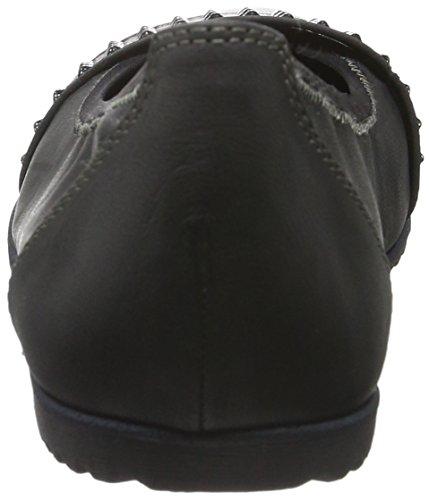 Negro Bailarinas para Black Tamaris 22102 Mujer 001 wI5BHTqH