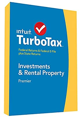 TurboTax Premier 2014 Investment and Rental Property Federal Returns & Federal E-File plus State Returns (CD-ROM) - 424539